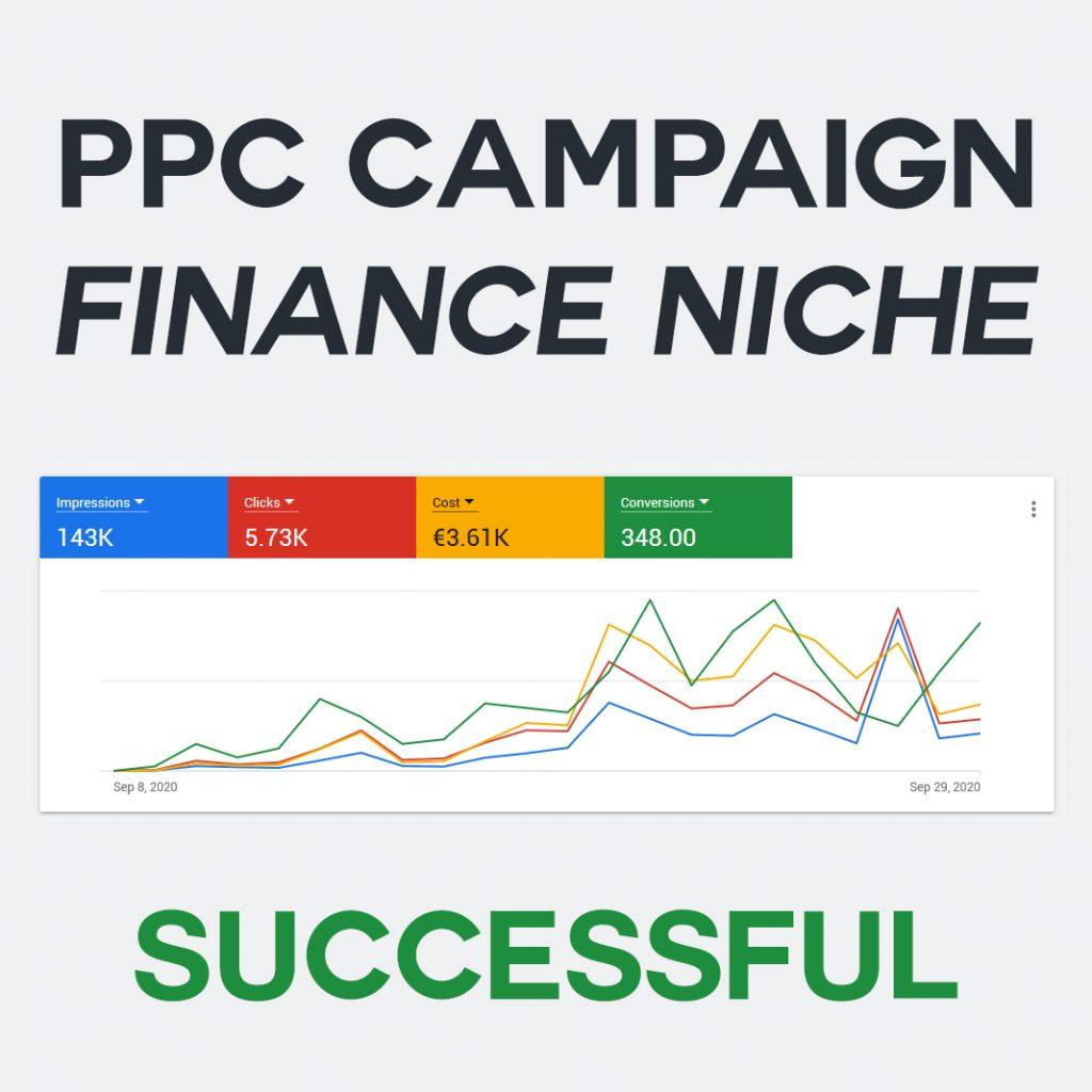 PPC Campaign - Finance Niche